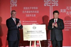 Prince Andrew, the Duke of York, who accompanied Xi to the event, stated that it is a pleasure to support the institutes and classrooms because China is an important country.