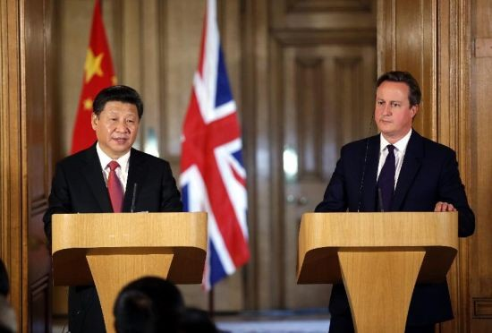 Xi leaves the country amid high hopes of further cooperation between the U.K. and China.