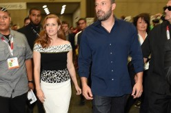 Actors Ben Affleck and Amy Adams attend Comic-Con International 2015 promoting 'Batman v Superman: Dawn of Justice' at the San Diego Convention Center on July 11, 2015 in San Diego, California.