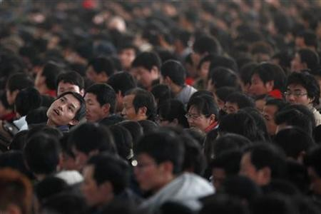 China's gender imbalance has resulted in bachelor surplus.
