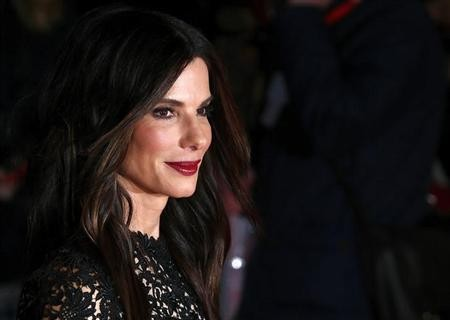 Sandra Bullock at the screening of her film ''Gravity'' at the London Film Festival.