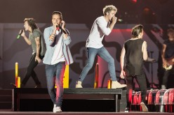One Directioners Harry Styles, Liam Payne, Niall Horan and Louis Tomlinson deliver an electrifying performance.