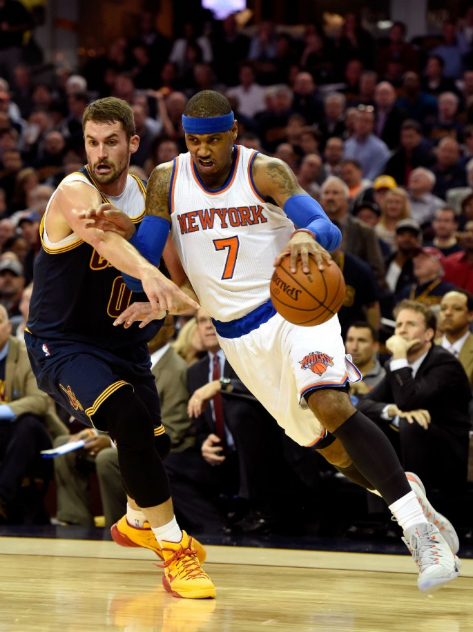 NBA Trade Rumors: Carmelo Anthony Or Kevin Love To Detroit P