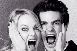 Andrew Garfield and Emma Stone are just friends despite being spotted strolling around London last August.