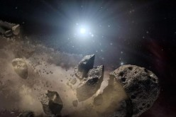 The asteroid nicknamed