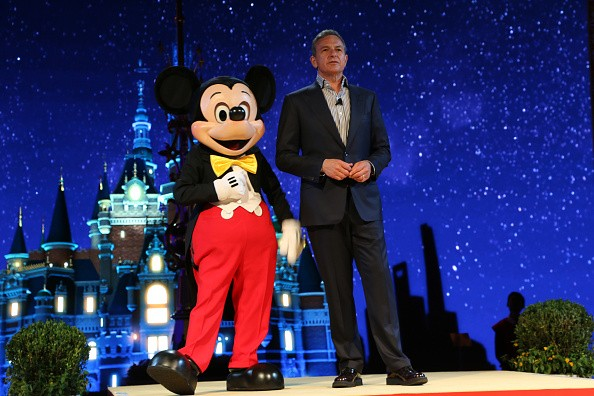 Walt Disney Chairman and CEO Robert Iger attends the unveilling ceremony of the Shanghai Disney Resort at Shanghai Expo Center on July 15, 2015.