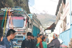 The route has remained off limits since the calamity struck on April 25 due to extensive damage on both sides of the border, leaving infrastructure in shambles.