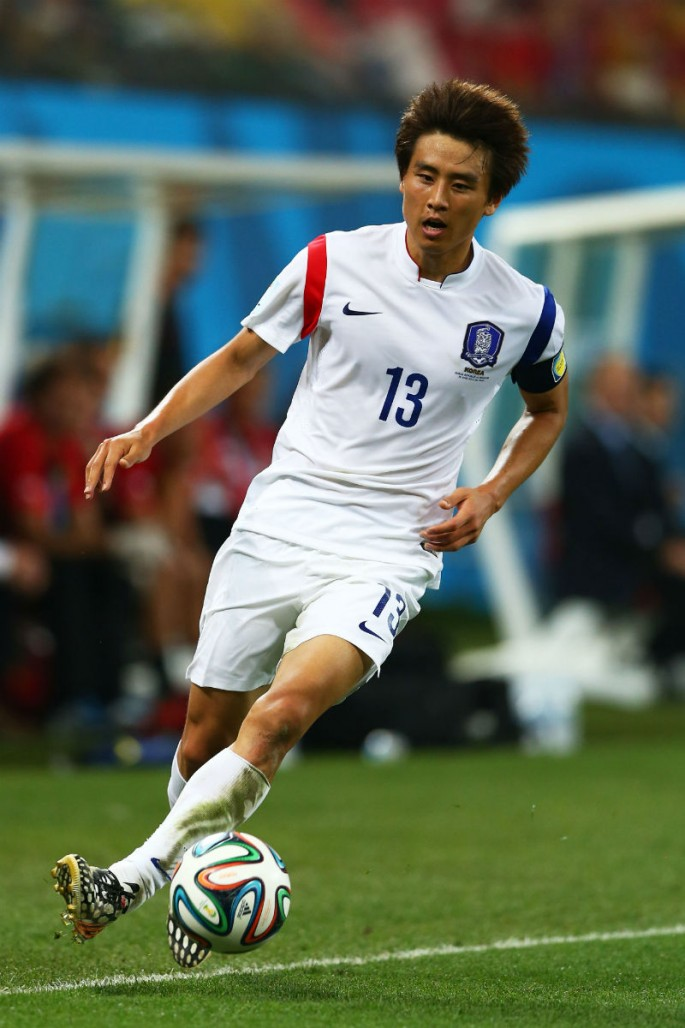 South Korea midfielder Koo Ja-cheol.