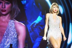 Taylor Swift gives the concert crowd in Singapore something to remember.