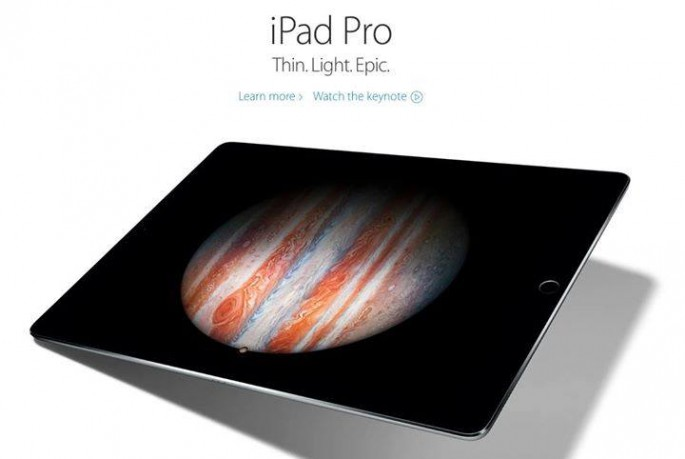 iPad Pro is a tablet computer designed, developed, and marketed by Apple Inc.