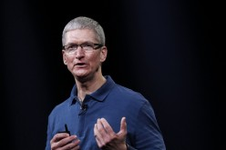 American business executive Tim Cook is the Apple Inc chief executive officer.
