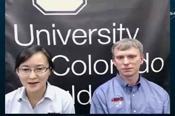 Dong Yaxue was joined by other NASA scientists during the Nov. 5 news conference.