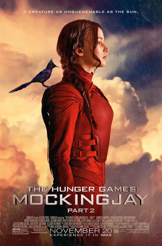 'The Hunger Games: Mockingjay Part 2' is expected to earn $120 million on its weekend debut.