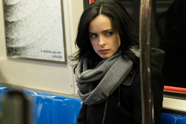 "Krysten Ritter plays the title role in the ""Jessica Jones"" TV series."