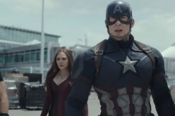 Captain America is joined by the Winter Soldier, Hawkeye, and Scarlet Witch in Joe Russo and Anthony Russo's