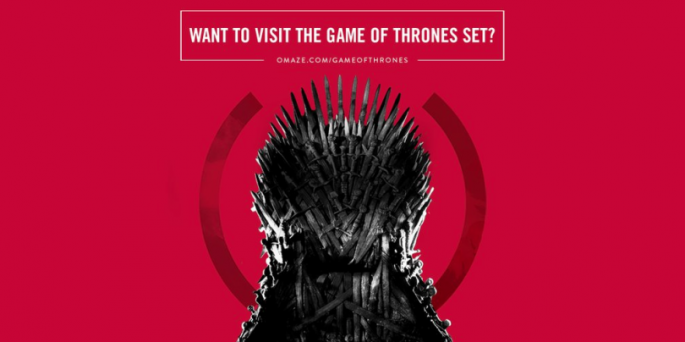 """AIDS charity is offering to visit the sets of """"Game Of Thrones"""" season 7."""