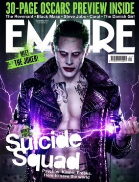 "Jared Leto is The Joker in David Ayer's ""Suicide Squad."""
