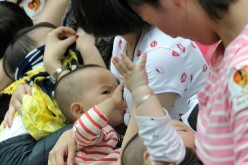Breastfeeding in public is still considered taboo in some parts of Chinese society.