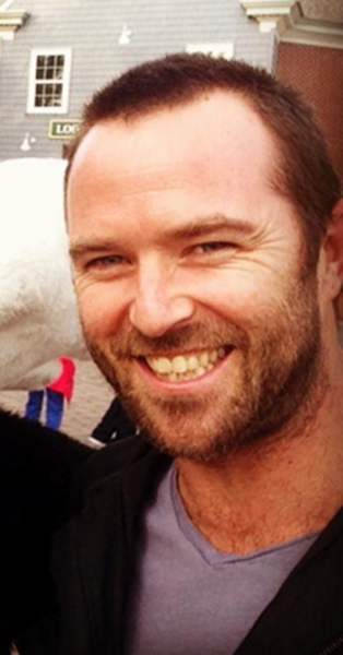 "Sullivan Stapleton plays FBI agent Kurt Weller in ""Blindspot."""