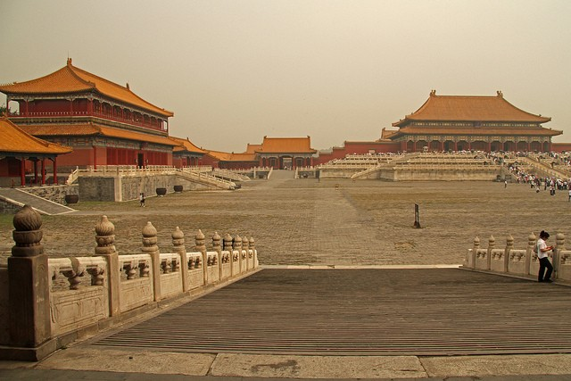The Lei Family was credited with several of the well-known buildings in the Forbidden City.