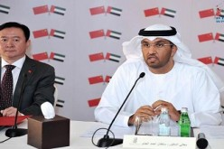 UAE Minister of State Sultan Bin Ahmed Sultan Al-Jaber expressed UAE's desire to further develop its strategic partnership with China.
