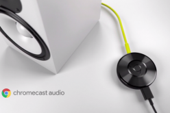 Chromecast Audio will also supports music files up to 24bit/96kHz in quality over Wi-Fi.