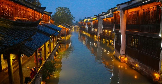 The architecture of Wuzhen will inspire some of the works to be showcased in the exhibition.