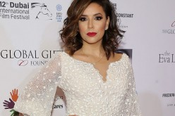 Eva Longoria attends the Global Gift Gala during day four of the 12th annual Dubai International Film Festival held at the Four Seasons Hotel on December 12, 2015 in Dubai.