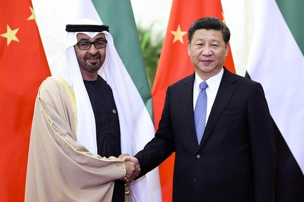 The agreement was borne out of a meeting that took place between President Xi Jinping and the Crown Prince of Abu Dhabi Sheikh Mohammed bin Zayed Al Nahyan in Beijing on Monday, Dec. 14.
