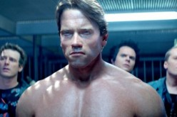 Arnold Schwarzenegger plays the Terminator.