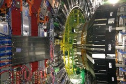 The CMS and ATLAS detectors of CERN's Large Hadron Collider.