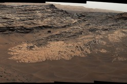 This May 22, 2015, view from the Mast Camera (Mastcam) in NASA's Curiosity Mars rover shows the