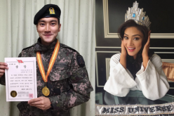 K-pop group Super Junior's Choi Siwon congratulated Pia Alonzo Wurtzbach on winning Miss Universe 2015.