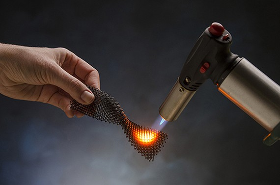 Super strong and flexible 3D printed ceramic parts can withstand up to 1,700 degrees Celsius heat conditions.