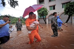 Chongqing Encounters Heavy Rainstorm
