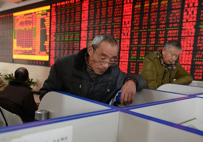 Shanghai Composite Index declined about 10 percent for the first week of 2016.
