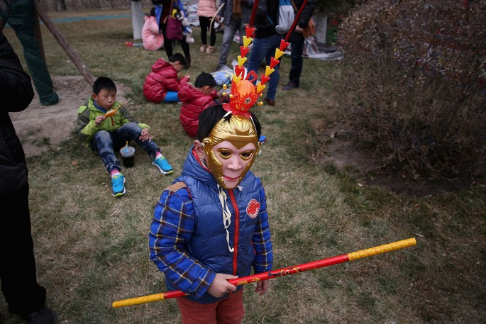 There are people in Fujian and Taiwan who worship the Monkey King.