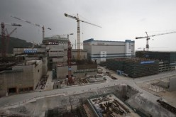 A nuclear reactor, to be operated by China Guangdong Nuclear Power (CGN), is seen under construction in Taishan, Guangdong Province.