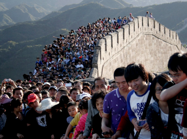 Beijing is planning to limit its population at 23 million in 2020.