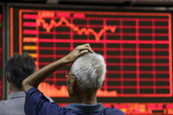 Although Chinese shares were able to recover some of the losses during the week ended Friday, the monthly drop was recorded to be the lowest in about seven years.
