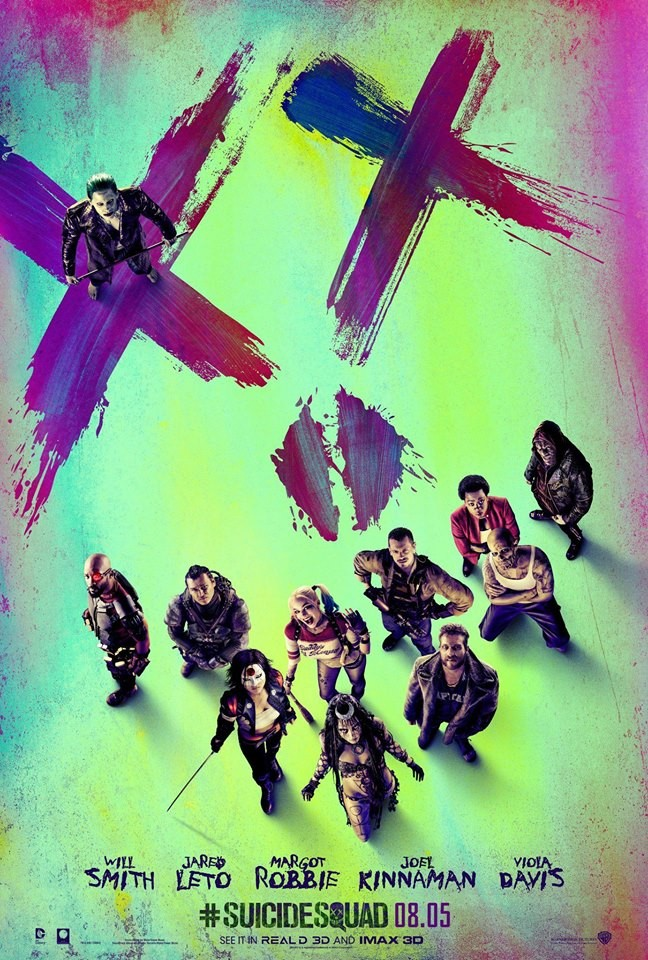 Suicide Squad is a comic based film directed by David Ayer and it stars Will Smith, Jared Leto, Margot Robbie, Viola Davis and Cara Delevingne.