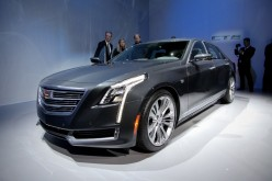 General Motors launches Cadillac CT6 sedan on the Chinese car market ahead of the US sale.