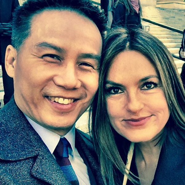 "Mariska Hargitay's former ""Law & Order: Special Victim's Unit"" co-star BD Wong plays Professor Strange in ""Gotham."""