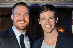 Stephen Amell and Grant Gustin play the title roles in the TV series