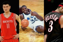 Yao Ming (left) joins fellow former NBA stars Shaquille O'Neal and Allen Iverson as the latest nominees for this year's NBA Hall of Fame.