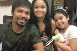 Filipino boxing champ Manny Pacquiao has two daughters named Mary Divine Grace and Queen Elizabeth.