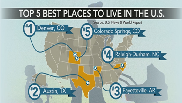 Denver tops the list of best places to live in 2016 life for Prettiest places to live in the us