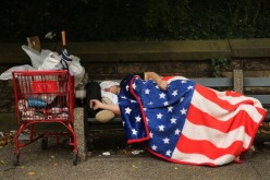 In 2015, more than 560,000 U.S. residents were reported to be homeless.