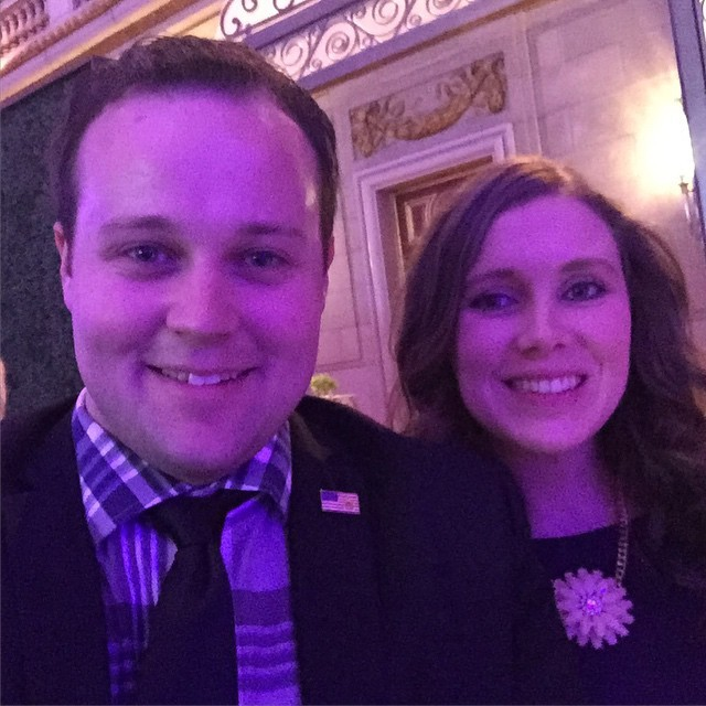 "Josh Duggar and Anna Duggar from ""19 Kids and Counting"""