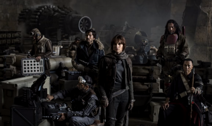 """Rogue One: A Star Wars Story,"" otherwise known as ""Rogue One,"" is scheduled to be released on Dec.16, 2016."